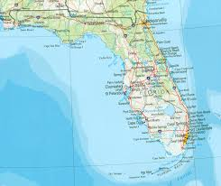 Tampa Florida Usa Map by