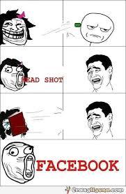 Meme Shot - funny meme face comic head shot facebook