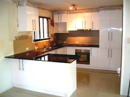 modern u shaped kitchen designs gorgeous white cabinet decors storage cool modern nickel pendant