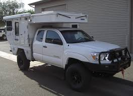 Tacoma Bed Width Fleet Flat Bed Model Four Wheel Campers Low Profile Light
