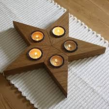 star tea light holder by a b furniture notonthehighstreet com