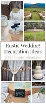 rustic wedding ideas that are diy u0026 affordable bewitchin