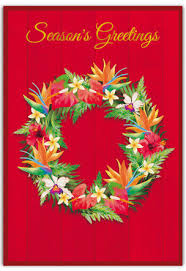 christmas cards welcome to the islands