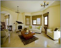 Best Colour Combination For Home Interior Interior Paint Color Schemes With Dual Color Orange Wall Paint