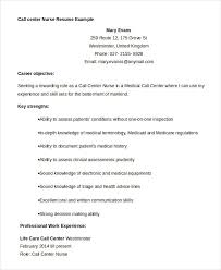 Example Of A Call Center Resume by Call Center Resume Example 9 Free Word Pdf Documents Download