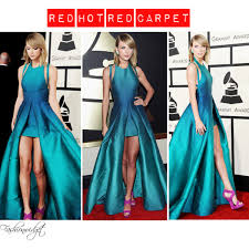 red red carpet taylor swift in elie saab spring 2015 be