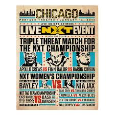 nxt chicago match card us