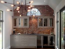 Tile Backsplash In Kitchen Reclaimed Thin Brick Veneer Thin Brick Veneer Brick Backsplash