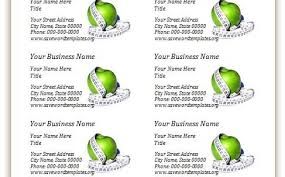 business card templates free 1 word business card templates office