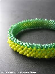 bead bangle bracelet images 359 best beaded bangles images bead jewelry beaded jpg