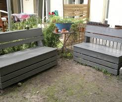 Diy Storage Bench Plans by Excellent U0026 Easy Garden Storage Bench 16 Steps With Pictures