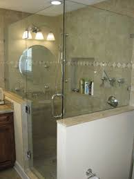 glass shower walls provides the greatest clarity to showcase the