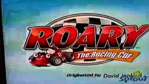 image roary racing car title card png custom warner