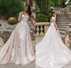 designer wedding dresses 2018 stunning designer a line wedding dresses illusion neckline