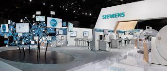 tradeshow exhibit for siemens designed by catalyst exhibits