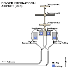 denver terminal b map denver international airport airport maps maps and directions to