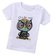 Comfortable T Shirts Best Price On Fashion Comfortable T Shirts Owl Pattern Short