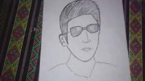 tutorial menggambar orang dengan pensil cara menggambar orang dengan pensil youtube