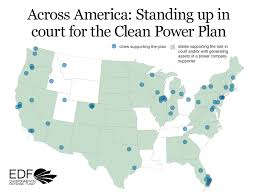 Cpp Map Clean Power Plan Case Resources Environmental Defense Fund