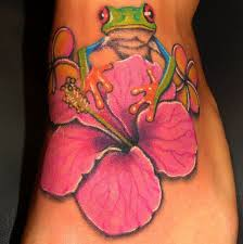 best 25 tropical flower tattoos ideas on pinterest tropical