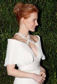 jessica chastain 2013 chanel pre oscar dinner in los angeles 04