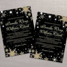 black and gold wedding invitations shop winter wedding invitations on wanelo