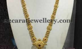 long chain necklace designs images Jewellery designs simple 50 grams antique long chain antique jpg