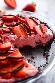 no bake chocolate strawberries and cream pie the recipe critic