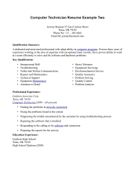 Field Service Technician Resume Examples by Resume Cable Technician Resume
