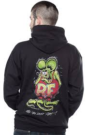 rat fink zip up hoodie gearheads unite every classic car fanatic