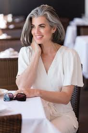 women in forties and grey hair by nikol johnson i think it s safe to say that you would probably