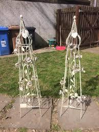 wedding arches gumtree shabby chic garden posts wedding arch alternative in livingston