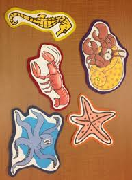 flannel friday five little sea creatures narrating tales of