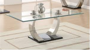 Metal And Glass Coffee Table Coffee Tables U0026 End Tables U2013 Instock Furniture