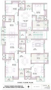 600sft Floor Plan by Subiksha Housing Pvt Ltd