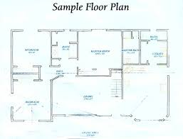 free sample house floor plans home design your own floorans for freedesign house free 98