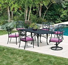 Woodard Outdoor Furniture by Woodard Dining Woodard Cast Aluminum The Patio Shop Patio
