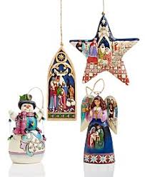 Jim Shore Dated Christmas Ornaments jim shore christmas figurines and ornaments macy u0027s
