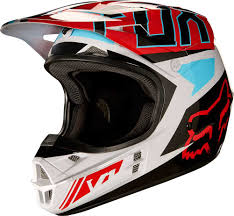 2017 Fox Racing V1 Falcon Helmet Motocross Dirtbike Offroad Mens