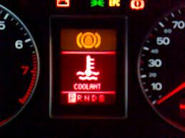 bmw radiator warning light overheating issue