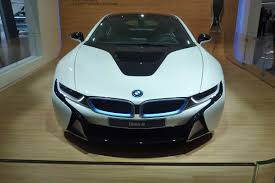 Bmw I8 White - bmw i8 hybrid supercar pictures and video frankfurt motor show