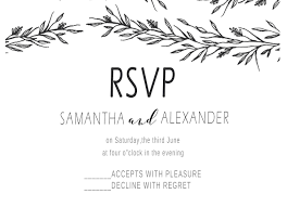 Party Invitations With Rsvp Cards Aliexpress Com Buy 10pcs Blank Design Flower Print Rsvp Cards