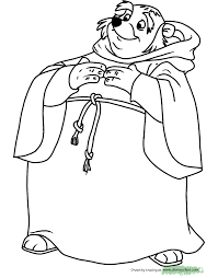 robin hood coloring pages 2 disney coloring book