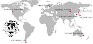 Blank Russia Map by Our Sister Cities Bellingham Sister Cities Association