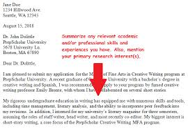 do you need a cover letter for graduate applications