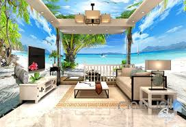 wallpaper for entire wall 3d fiji tropical island entire living room business wallpaper wall