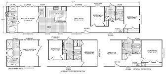 4 Bedroom Single Wide Floor Plans Single Wide Bestsellers Down East Homes Of Beulaville Nc
