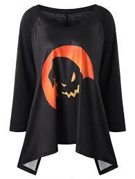 5xl Halloween Costumes Shirts Black Orange 5xl Halloween Size Raglan Sleeve