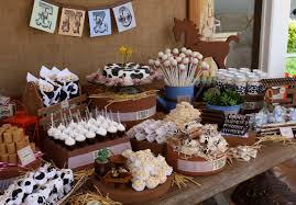 first birthday party decoration ideas u2013 western party decorating