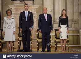 the spanish royal family is attending king juan carlos u0027 formal